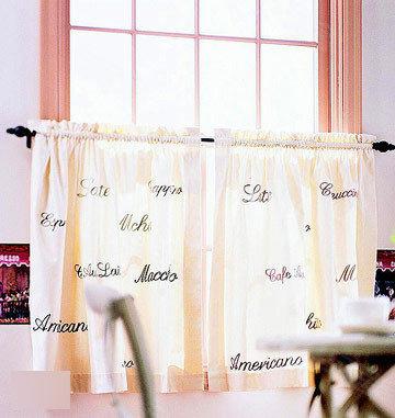 18款DIY惊艳装饰性窗帘