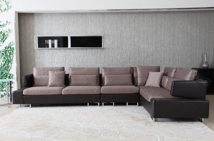 拐角沙发展现客厅别样美