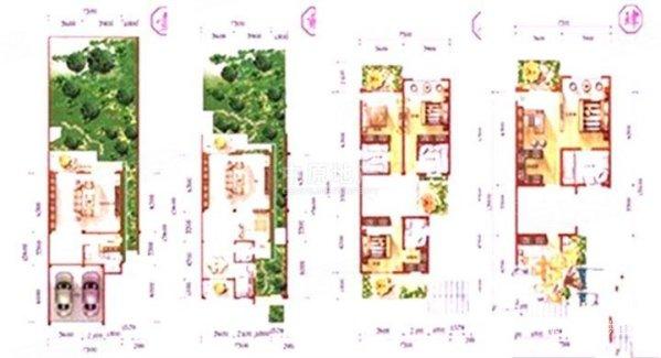 农村宅院房屋电路图