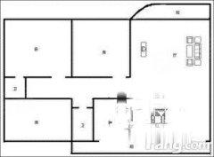 昌达新世纪花园 2室1厅 精装修