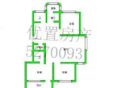 [优置房源等您来看]三广广泰小区中层三室两厅两卫家具电器齐全
