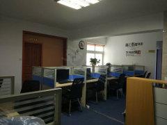 鼓楼区华林路锦绣福城精装118平米纯办公,办公设备可出售