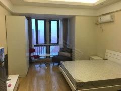 酒店公寓,对外出租,精装一室一厅,家具家电齐全,交通便利