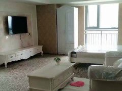 万达公寓54平精装修欧式家具出租急租