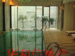 丽宫别墅 带高尔夫别墅 6万出租 室内泳池地暖 高档会所出租
