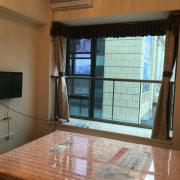 恒大名都公寓一室一厅出租带网络宽带 精装 全新家电家具出租
