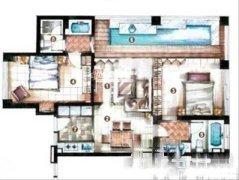 :金陵海景花园2房精装招租直线高层海景整租