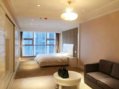 清扬路茂业旁 太湖广场地铁站附近时代国际精装单身公寓