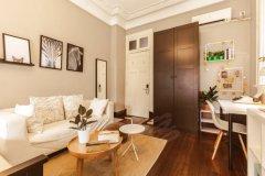 房东直租,家具齐全,1室1厅1卫,押一付一