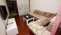 整租,南郊花园,1室1厅1卫,室内所需家具家电全齐