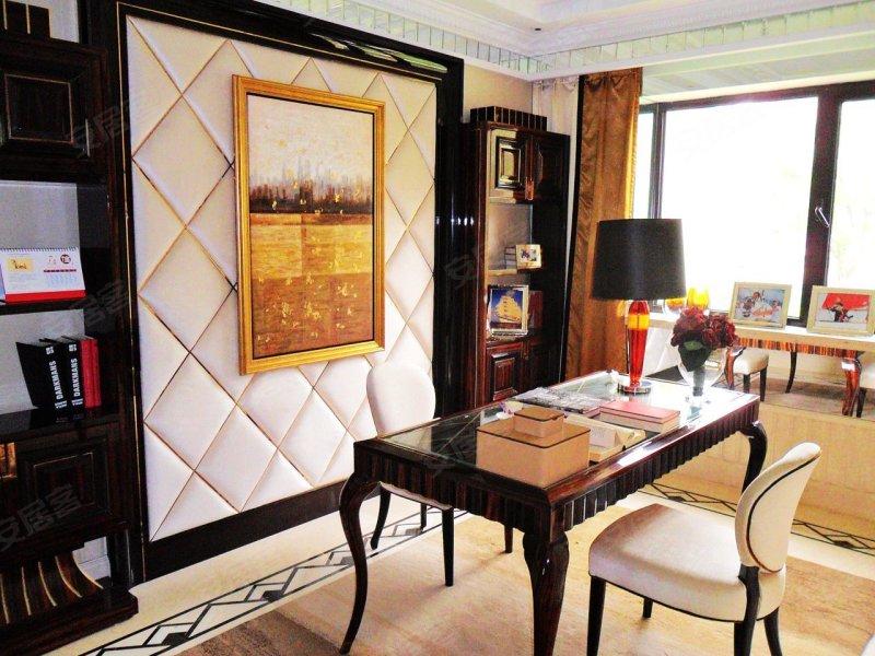 香悦四季127平米3居精装样板间欣赏高清图片