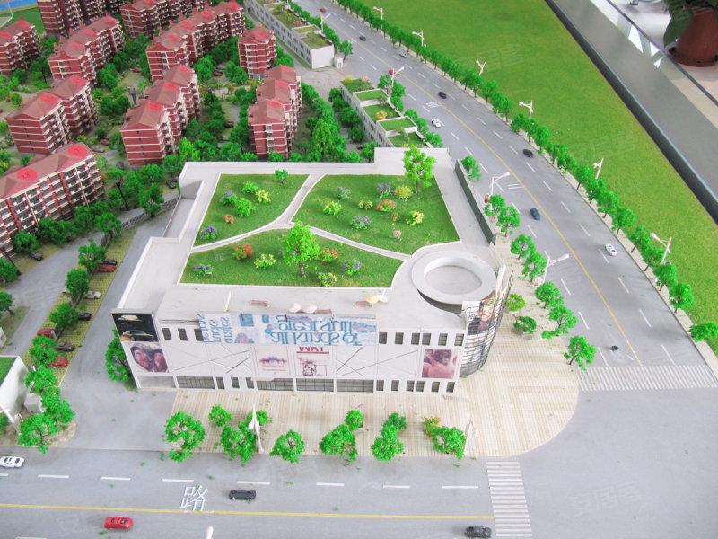 小上海新城三期规划图 高清图片