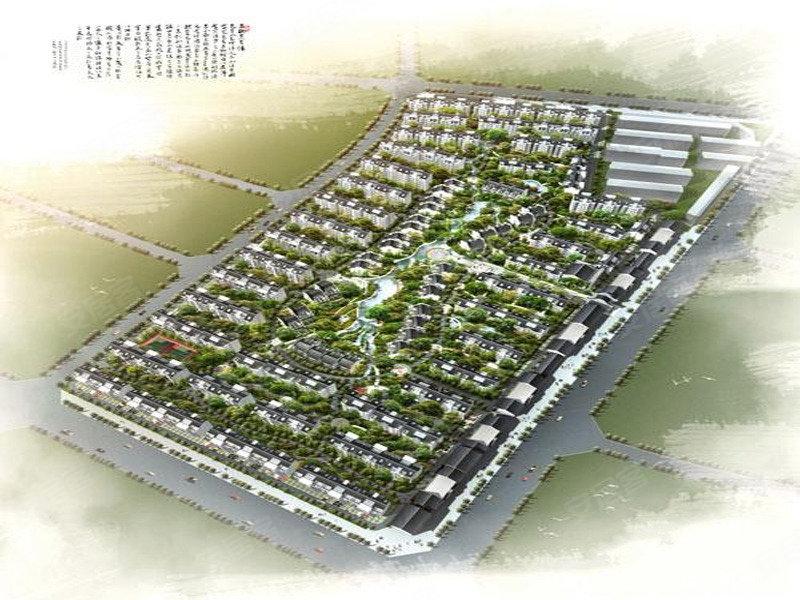 汉唐新城规划图 高清图片