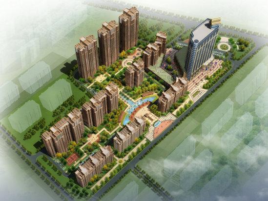 北汊河新区大盘多 3300元 平米起买豪宅
