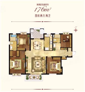 绿城·上海香溢花城内环176平米全能四房再续热销传奇